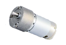 dc motor with gear reduction