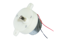 1rpm Plastic gear motor for Colorful rotating light