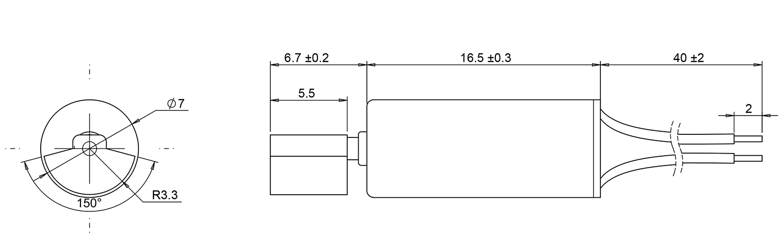 7mm vibration motor