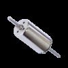 12V coreless dc motor two shaft