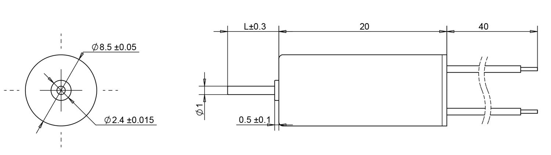 8520 coreless motors